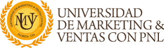 Universidad de Marketing y Ventas con PNL Logo